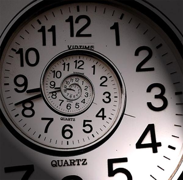 beskrajni spiralni sat